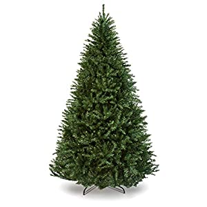 Best Choice Products 7.5ft Premium Hinged Douglas Full Fir Artificial Christmas Tree Festive Holiday Decoration w/ 2254 Branch Tips, Easy Assembly, Foldable Metal Stand - Green 7