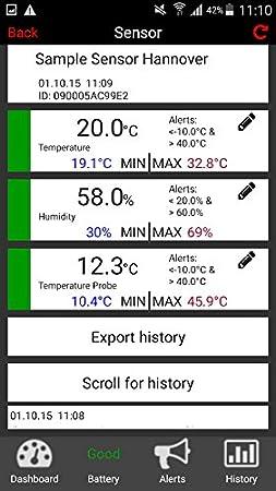 TFA-Dostmann 30.3303.02 Weatherhub /Émetteur Thermo-hygrom/ètre avec Affichage Single 4 x 4 x 13 cm Blanc.