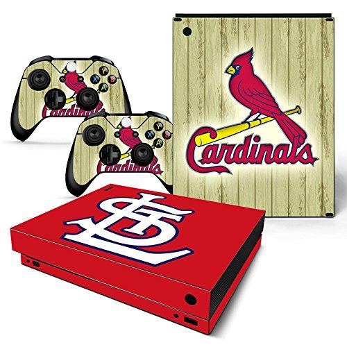 FriendlyTomato Xbox One X Console and Wireless Controller Skin Set - Baseball MLB - XboxOne X XOX Sticker Vinyl