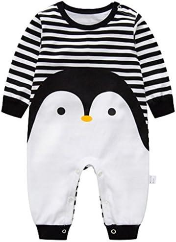 3-6 Months Baby Romper Unisex Jumpsuit Long Sleeve Bodysuit Cotton Sleepsuits