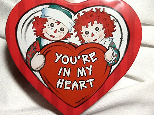 Raggedy Ann and Andy, You're in My Heart Tin (Andy Tin)