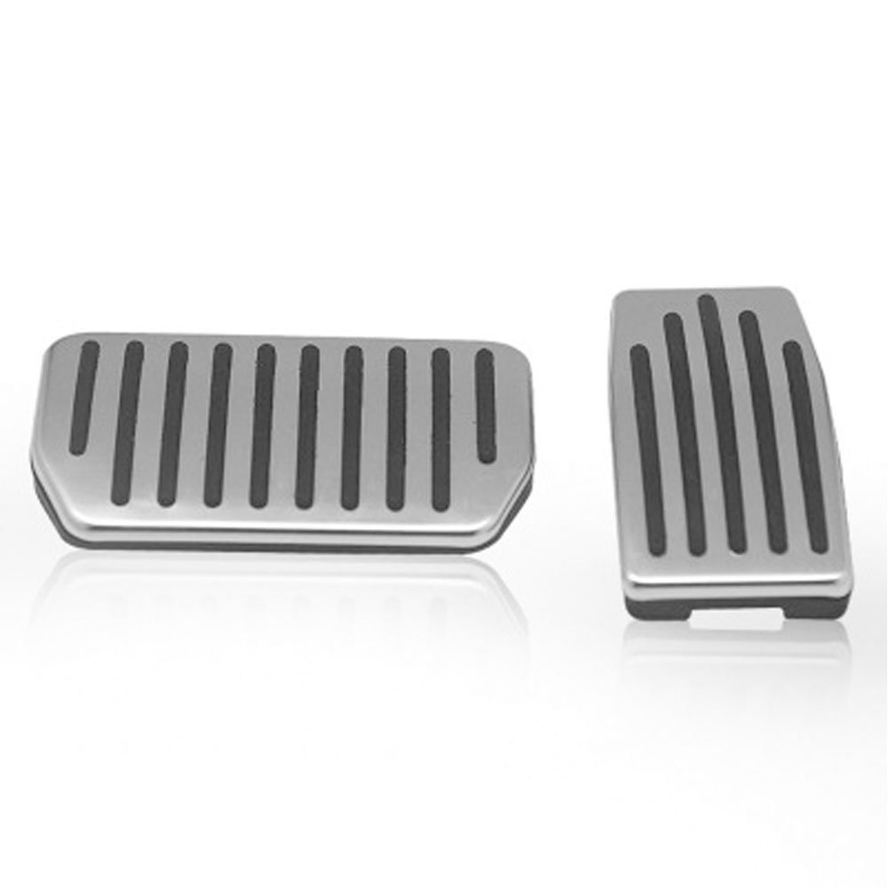 Stainless Steel Anti-slip Accelerator Brake Pedals Pad Cover Fits: Tesla Model S and Model X Jaronx For Tesla No Drill Gas Brake Pedal Tesla Pedals