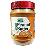 New World Foods Peanut Butter, Smooth Unsalted Organic, 1Kg