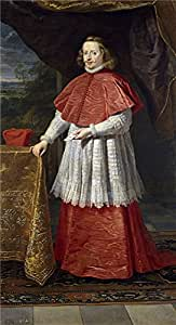 Oil painting 'Crayer Gaspar de El cardenal infante Fernando de Austria 1639 ' printing on high quality polyster Canvas , 16 x 29 inch / 41 x 75 cm ,the best Home Theater artwork and Home decor and Gifts is this High Resolution Art Decorative Canvas Prints
