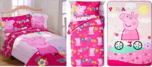 Peppa Pig Girls Twin Bedding Collection Buy Online In