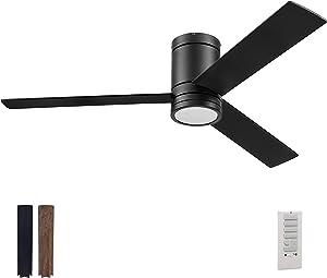 Prominence Home 51464-01 Espy Ceiling Fan, 52, Matte Black