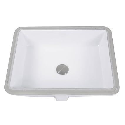 Nantucket Sinks GB-17x13-W Glazed Bottom Undermount Rectangle ... on rectangle kitchen sink, rectangle glass sink, rectangle bar sink, rectangle white sink, rectangle marble sink, rectangle modern sink, rectangle tile, rectangle porcelain sink, white bathroom drop in sink, rectangle vessel sink, wall mount rectangular bathroom sink, rectangle mirror, rectangle overmount sink, rectangle utility sink, rectangle drop in sink, rectangle basin sink, 12 bar sink, rectangle stainless sink, rectangle farmhouse sink,