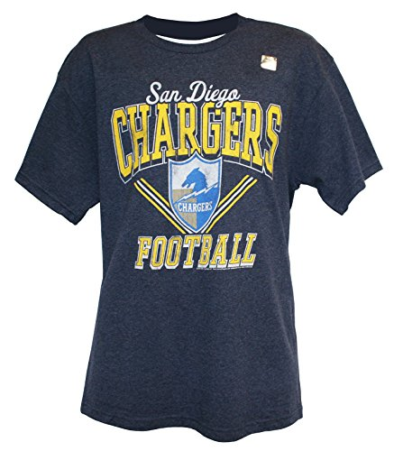 (NFL Men's Script Wordmark T-Shirt by G-III, San Diego Chargers, Large)