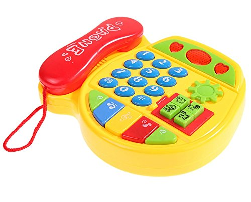Cartoon Music Phone Toy Telephone For Learning