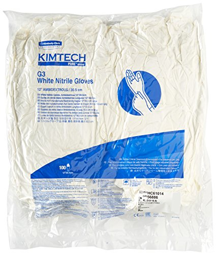 Thomas Scientific Kimberly Clark Safety 56886 G3 Nitrile ...