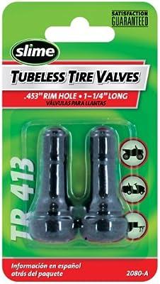 12 1-1//4 TR 413 Slime 2080-A Rubber Tire Valve Stems