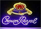 Dream Neon Sign New Crown Royal Sign Handcrafted Real Glass Neon Light Sign Home Beer Bar Pub Recreation Room Game Room Windows Garage Wall Sign 19x15 inches.The Best Offer!Super Bright!