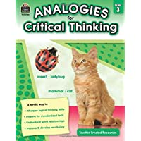 Analogies for Critical Thinking, Grade 3 from Teacher Created Resources