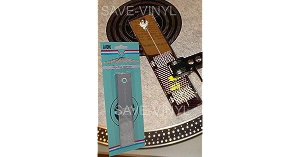 Amazon.com: Herramienta para alinear aguja de tocadiscos ...