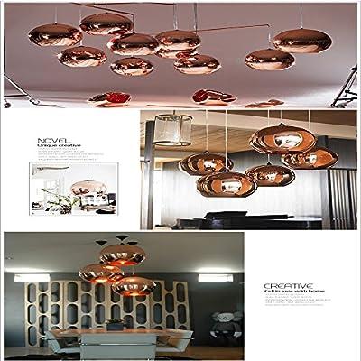Mini Glass Electroplating Globe Ball Pendant Lights Lamp 110-240V