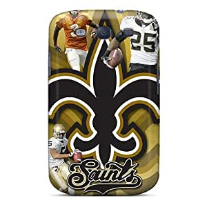 Perfect Hard Cell-phone Case For Samsung Galaxy S3 (leD18898lELR) Customized Stylish New Orleans Saints Series