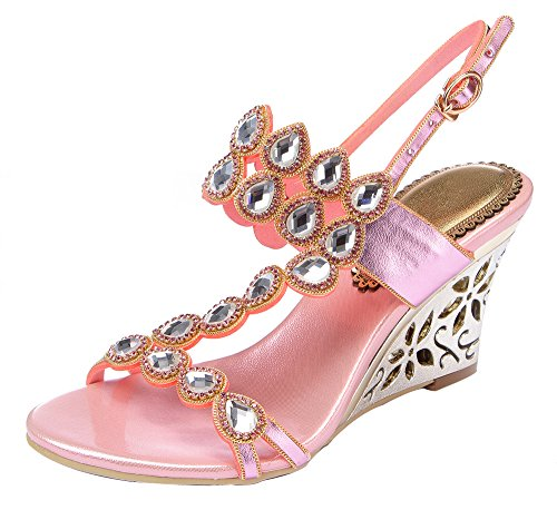 honeystore-womens-water-patterned-rhinestones-with-straps-wedge-sandals-pink-95-bm-us