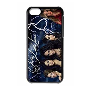 QSWHXN Print Pretty Little Liars Pattern PC Hard Case for iPhone 5C