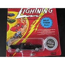 Custom Lincoln Continental (black) Series 6 Johnny Lightning Commemorative Limited Edition
