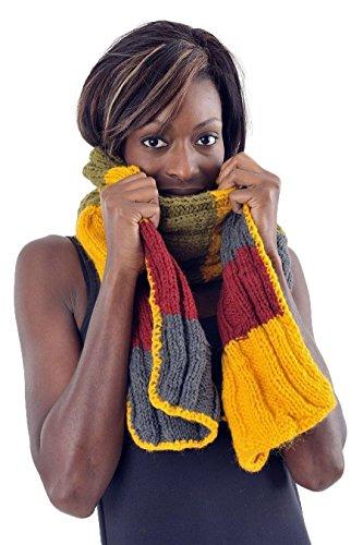 - Echarpe pure laine douce multicolore -