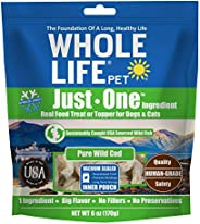 Whole Life Pet Products Healthy Dog and Cat Treats Value Pack, Human-Grade Wild Caught Cod, Protein Rich for T