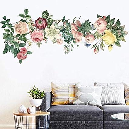 Amazon Com Xojkjio Wall Sticker Warm Living Room Sofa Wall