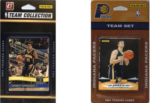 NBA Indiana Pacers 2 Different Licensed Trading Card Team Sets ()