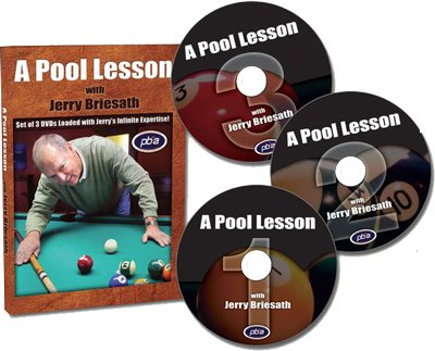 A Pool Lesson With Jerry Briesath DVD