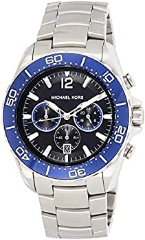 Michael Kors Windward Chronograph Black Dial Men's Watch