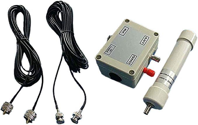IPOTCH Antena Activa, Mini látigo de Antena Activa HF VHF ...