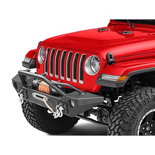 Barricade Alloy Series Aluminum Front Bumper - for Jeep Wrangler JL 2018-2019