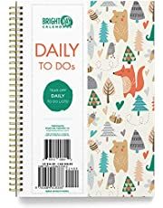 """to-Do List Bounded Undated Daily Planning Notebook - 6.25"""" x 8.25"""""""