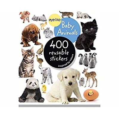 Workman Publishing WMP0761174837 Eyelike Baby Animals 400 Reusable Stickers: Arts, Crafts & Sewing