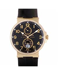 Ulysse Nardin Marine Chronometer automatic-self-wind mens Watch 266-66B/62 (Certified Pre-owned)