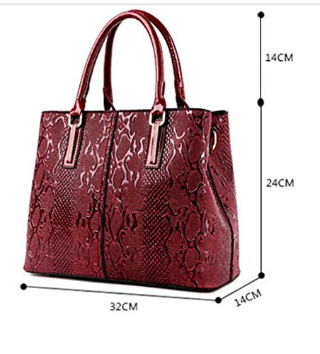 Blue Dating Luxury Designer Bag Leather Tote Shopping Women Handbag Pinchu Red Office Elegant Office Soft a6Bxp