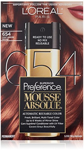 LOreal Paris Light Auburn Brown