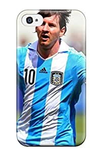 Hot Style GvYrEOS877MMnfr Protective Case Cover For Iphone4/4s(amazing Lionel Messi Argentina ) by Maris's Diary