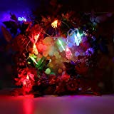 BOLUOYI Outdoor Lighting Products,Christmas Lights Multicolor,10m Halloween String Light with 80 LED Light Strip Party Garden Patio Decoration