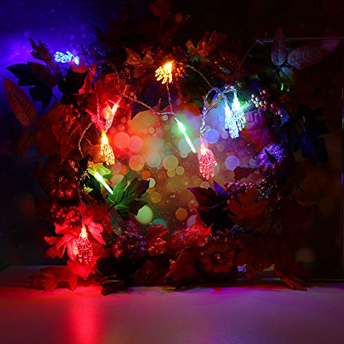 BOLUOYI Outdoor Lighting Products,Christmas Lights Multicolor,10m Halloween String Light with 80 LED Light Strip Party Garden Patio Decoration by BOLUOYI