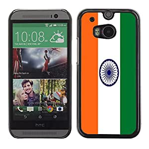 - Flag - - Hard Plastic Protective Aluminum Back Case Skin Cover FOR HTC One M8 Queen Pattern