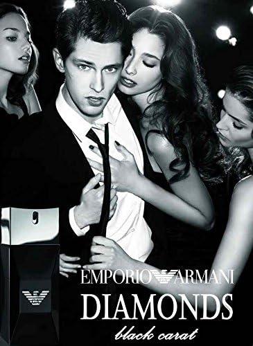 Emporio diamonds black Carat for men by Giorgio Armani - Eau de Toilette  Spray 50 ml: Amazon.co.uk: Beauty