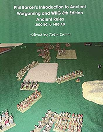 Amazon com: Phil Barker's Introduction to Ancient Wargaming and WRG