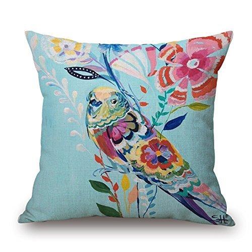 Breathing - Funda de Almohada Decorativa para sofá de Yoga ...