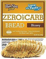 ThinSlim Foods 45 Calorie, 1g Net Carb, Love-The-Taste Low Carb Bread Honey
