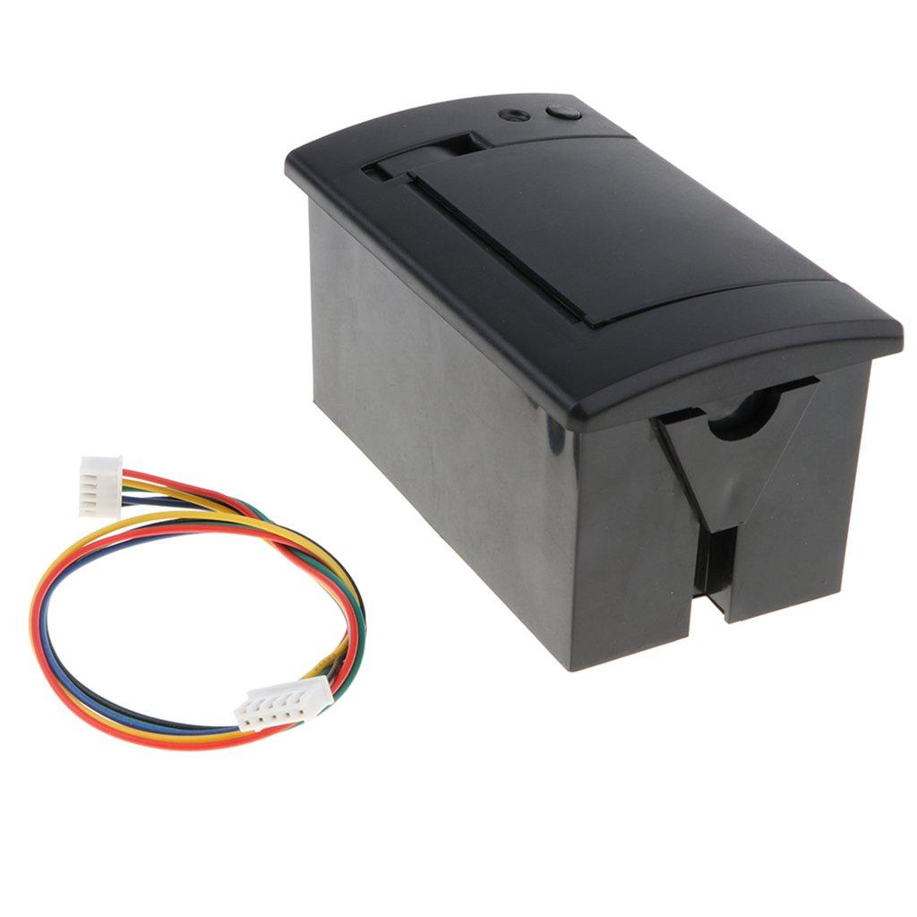 Homyl 58MM 701 USB Embedded Thermal Receipt Printer Serial TTL/RS232 Port Printing Black