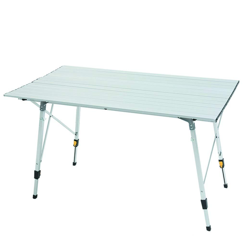 Mesa Plegable de Aluminio Ultra Ligero Picnic Suministros Equipo portátil Plegable Mesa de Camping