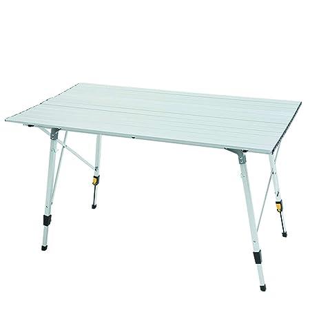 Lina Mesa Plegable para Acampar, Mesa de Aluminio Ultraligera para ...