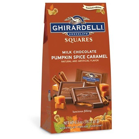 Ghirardelli Chocolate Pumpkin Spice Caramel Squares 6.3oz (Chocolate Pumpkin compare prices)