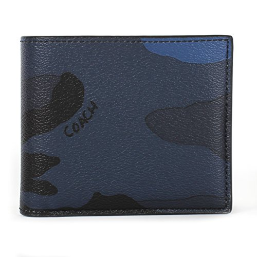 7a758ff42130c usa mens coach wallet blue b9fe2 6e288