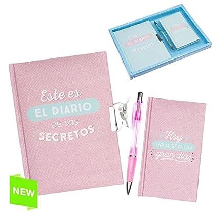 Dcasa Juego Diario Libreta Boligrafo Frases Original Follow